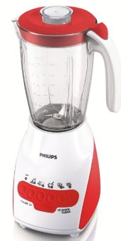Philips Blender HR2115 Plastik - 2L - Merah