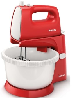 harga PHILIPS Stand Mixer HR1559 - Merah Lazada.co.id