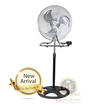 Pisces Kipas Angin Besi 18 inch / Metal Stand Fan Multifungsi 3 in1 - MST18 ( Premium Stainless Steel )