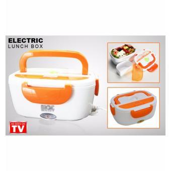 Pitaldo Kotak Makan Elektrik Colokan Rumah Rantang Pemanas Makanan untuk Kantoran, Pabrik .