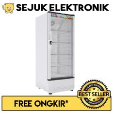 Polytron SCN-141 Display Cooler Showcase 165L - Putih (Khusus JADETABEK)