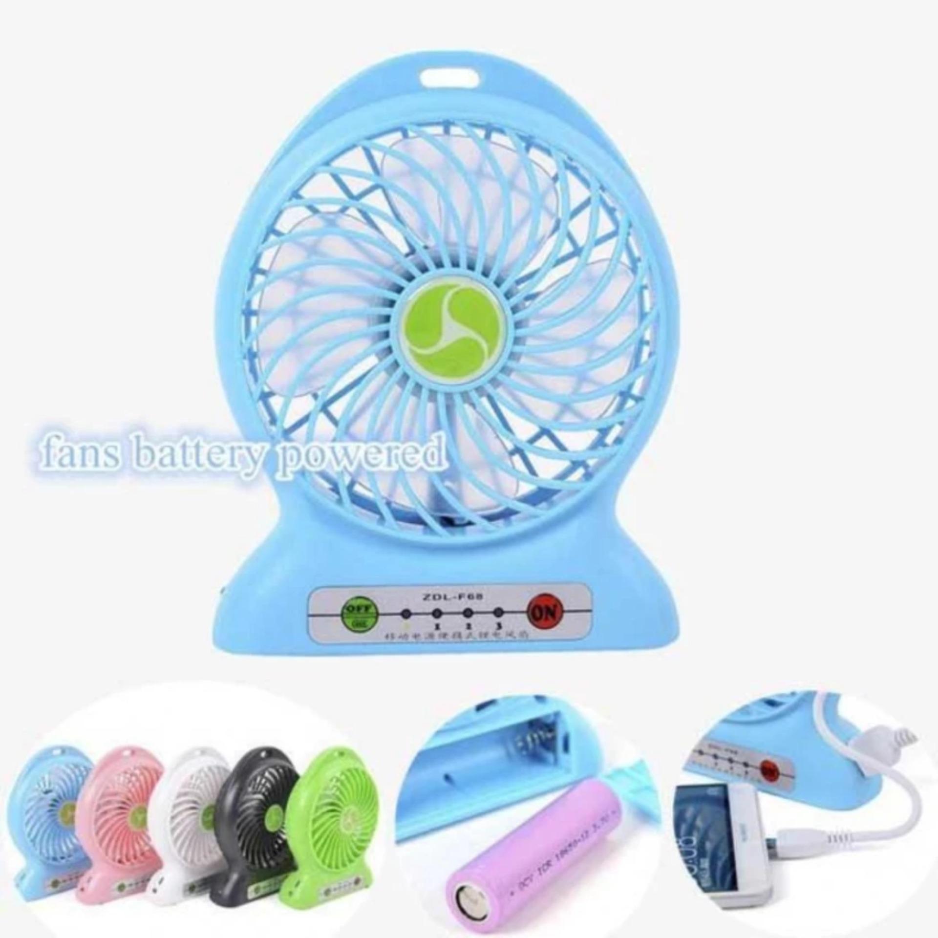 Power Bank Kipas / Kipas Angin Mini Portable / Mini Fan USBPortable