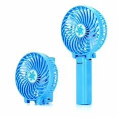 Prime Kipas Lipat Mini Portable Handy Mini Fan - Biru