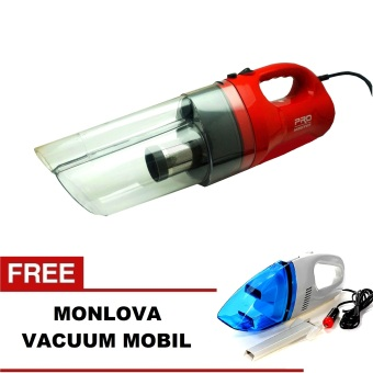 Harga Pro Master Hoover Turbo Vacuum Cleaner + Gratis Monlova Portable For Car