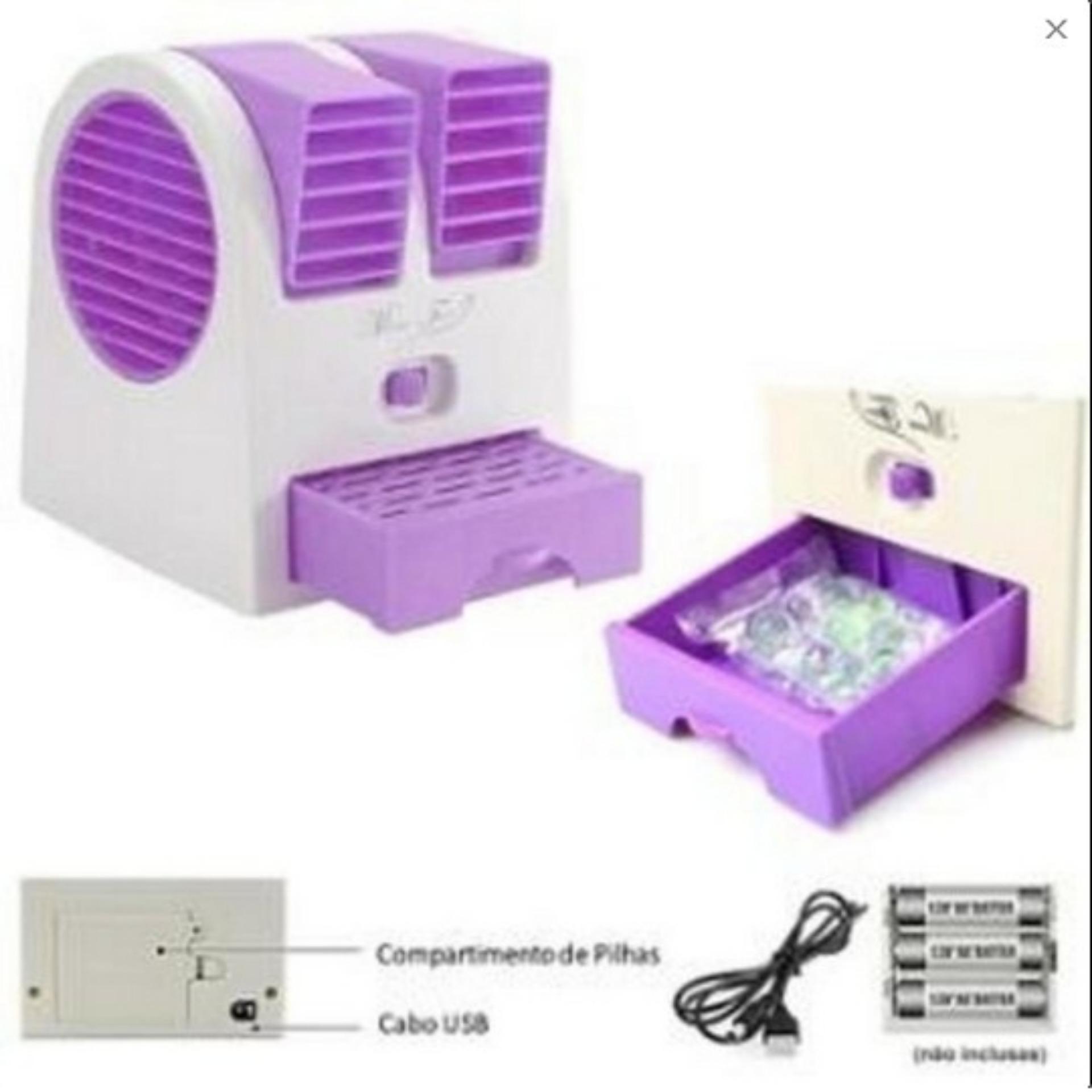 Penawaran Bagus Promoac Duduk Double Mini Fan Portable Blower Kipas Angin Ac Twin Parfum Usb