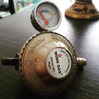 Regulator Winn gas dengan ampere