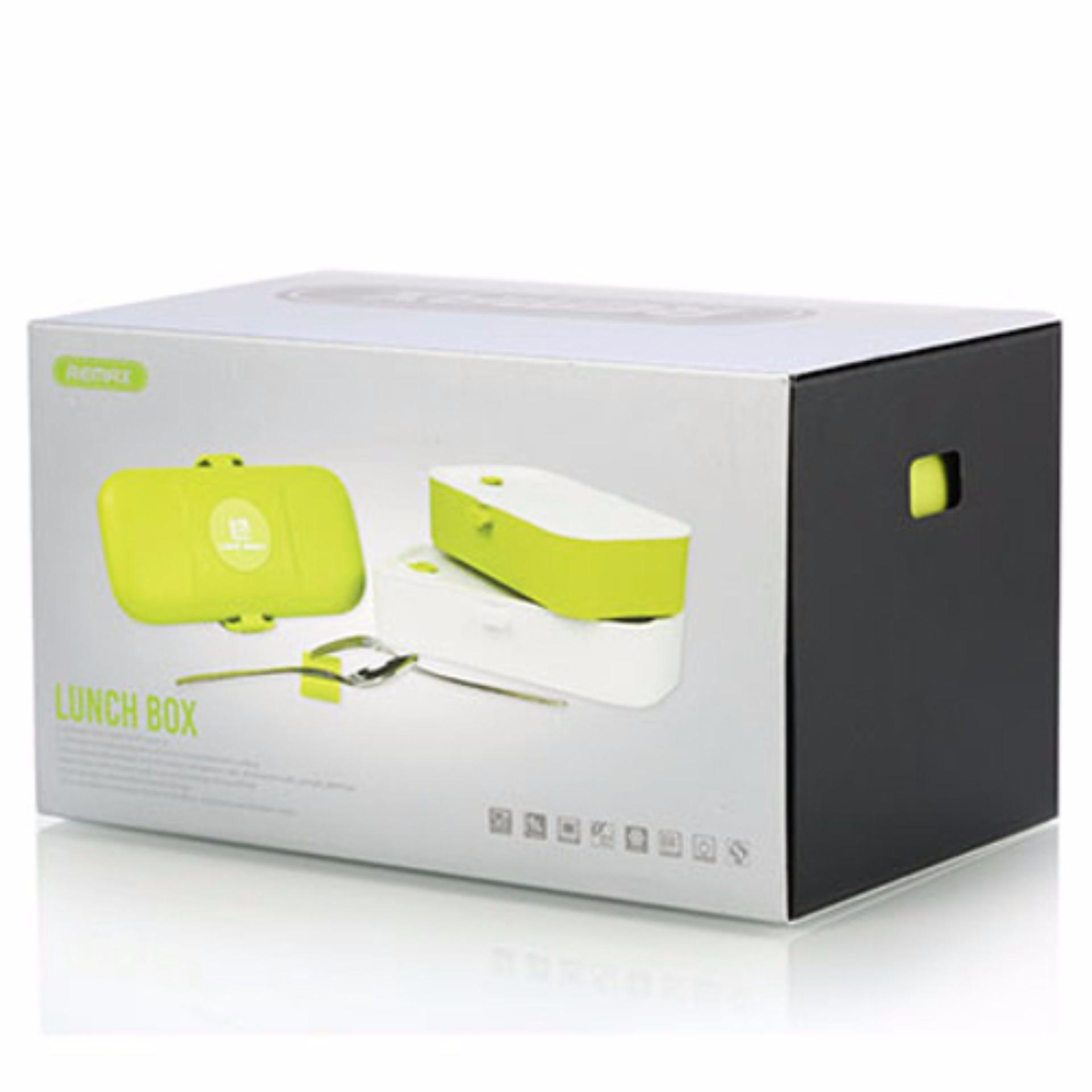 Home · Pitaldo Kotak Makan Elektrik Colokan Mobil Untuk Pemanas Makanan Di Perjalanan Mudik Lebaran; Page - 3. Remax Kotak Makan 2 Tingkat RT BT01 Green