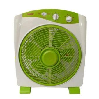 sanex box fan sb-818 12 inch – hijau