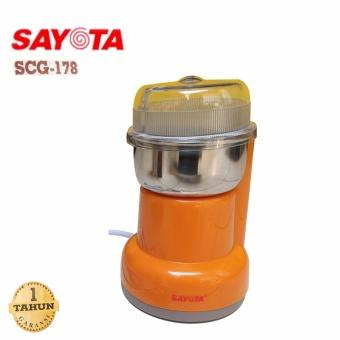 harga SAYOTA Coffee Grinder Penggiling Biji Kopi,Blender Obat, Bumbu SCG-178 Lazada.co.id