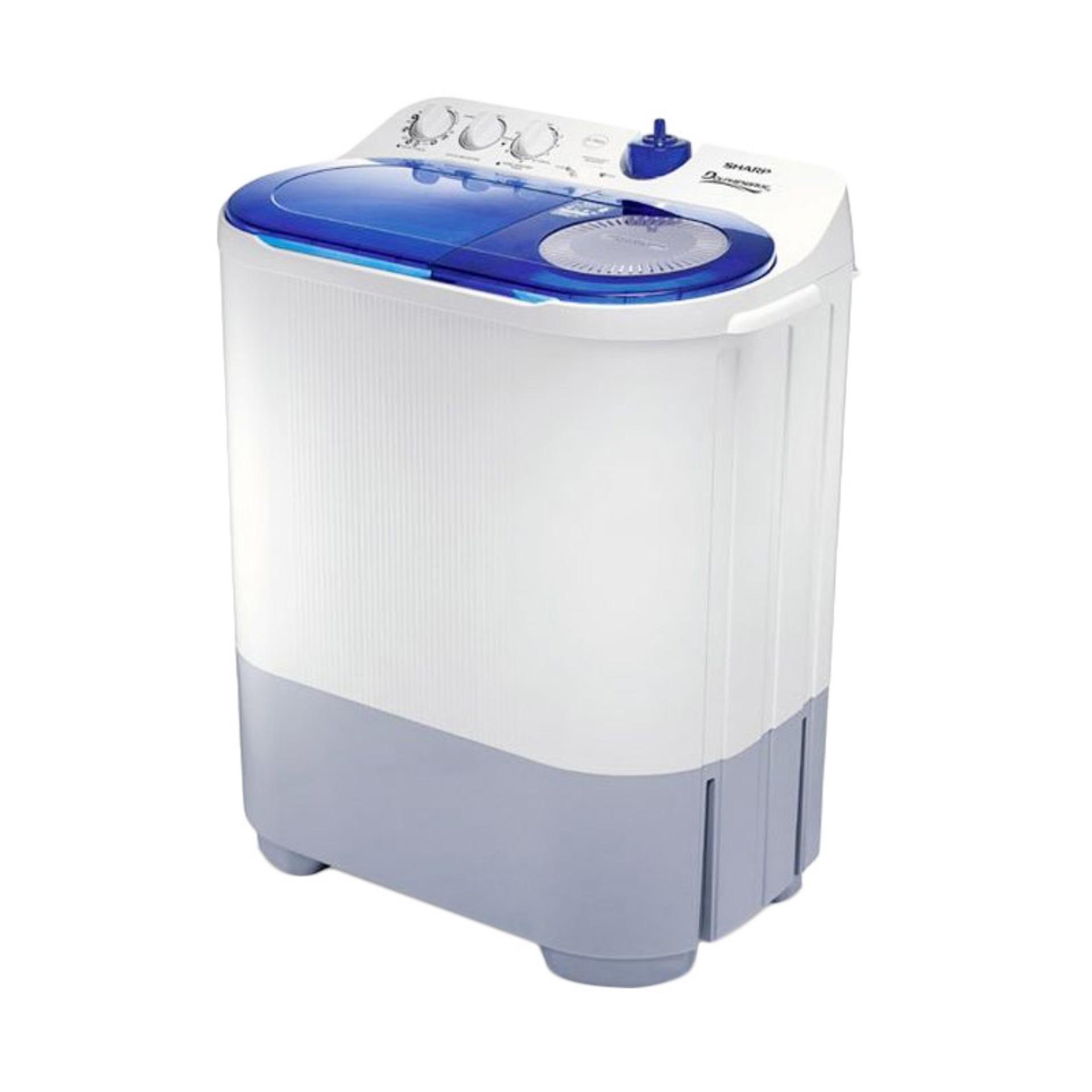 Sharp Mesin Cuci 2 Tabung 6 Kg Est 65mw Neutral Daftar Harga Puremagic Es T65mw Gk 65 Hijau 77 Da Bk Putih