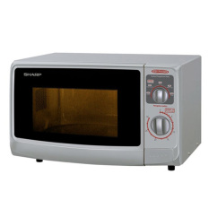 Sharp Microwave Oven R-222Y(W)- Low Watt - Putih