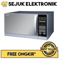 Sharp R-728S-IN Microwave Oven 25 Liter Grill - FREE ONGKIR - Khusus JADETABEK