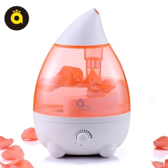 Small home, large capacity, quiet office, bedroom, airconditioning, air purification, creative Mini Perfume machine, ahumidifier - netOrange red - intl