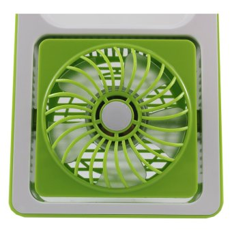 ... TokoKadoUnik Mini Fan Rechargeable - Hijau - 3 ...