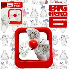 TOP GRADE AA Kipas Angin USB Mini Karakter Rechargeable - Minion, Baymax, Hello Kitty, Doraemon