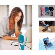 Universal Handheld Mini Portable Air Conditioner USB Fan - AC Genggam AC Tangan AC USB  Kipas Angin Portable Cooler AC Murah
