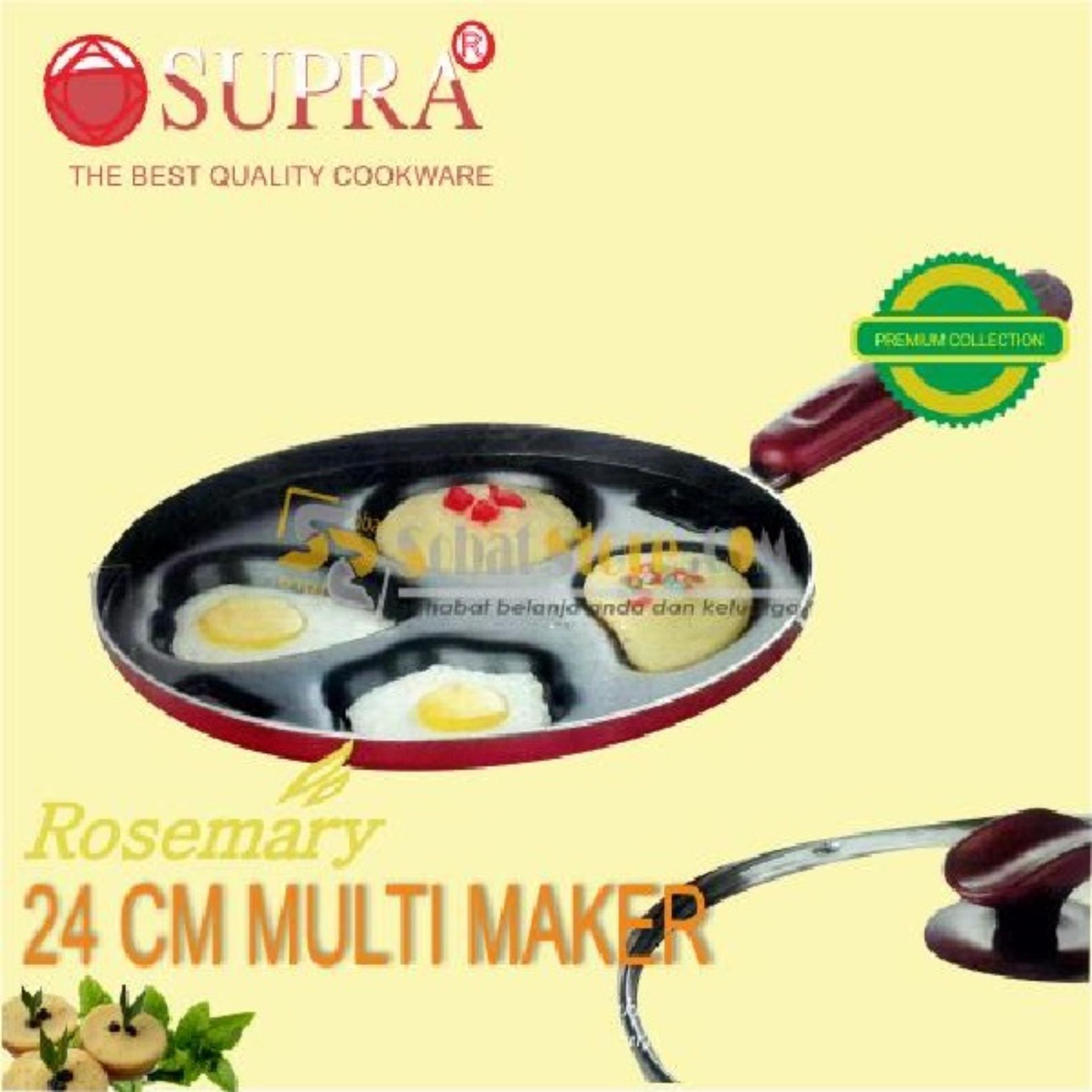 Wajan Cetakan Kue Serbaguna Supra Multi Maker 24cm .