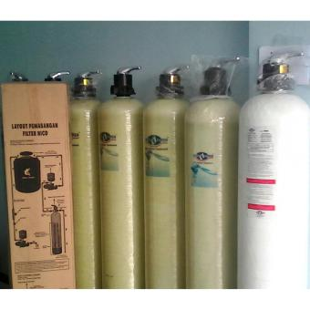 Water heater nico-filter air-penjernih air tipe deluxe 1054