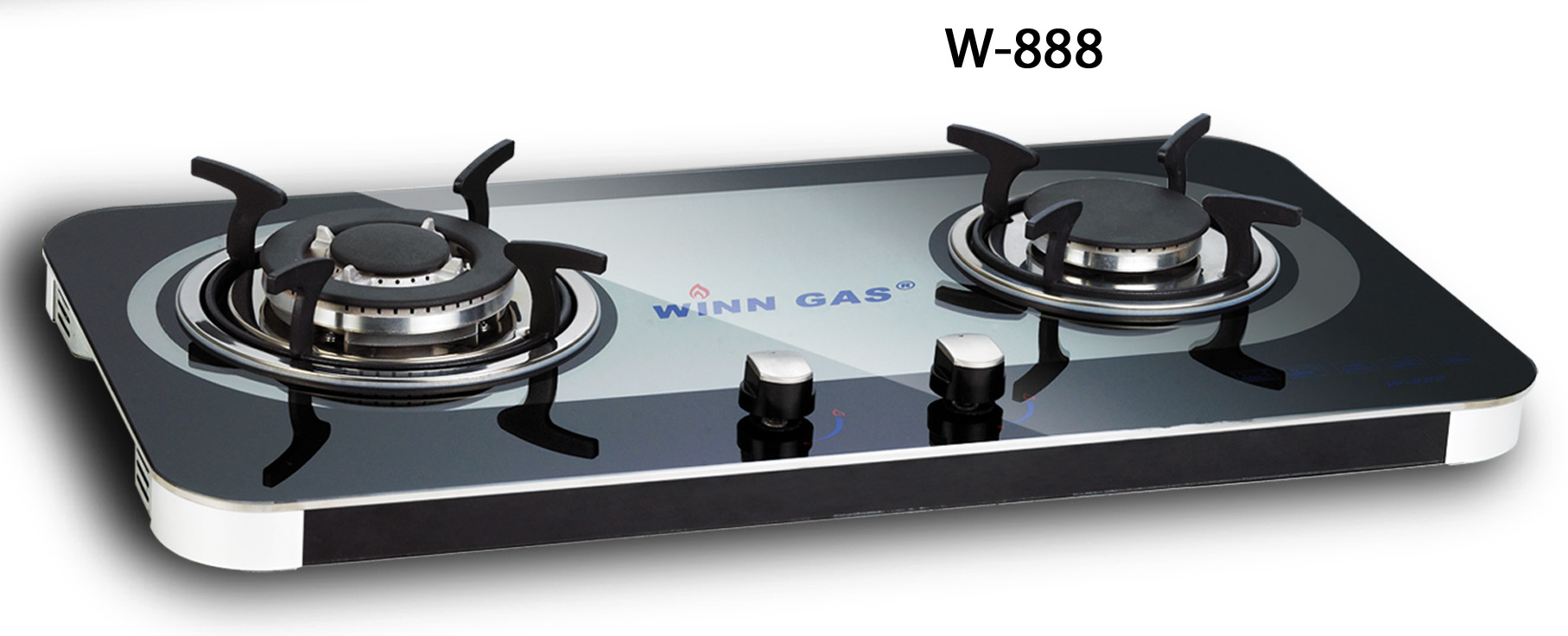 Winn Gas 2 Tungku W888 Kaca
