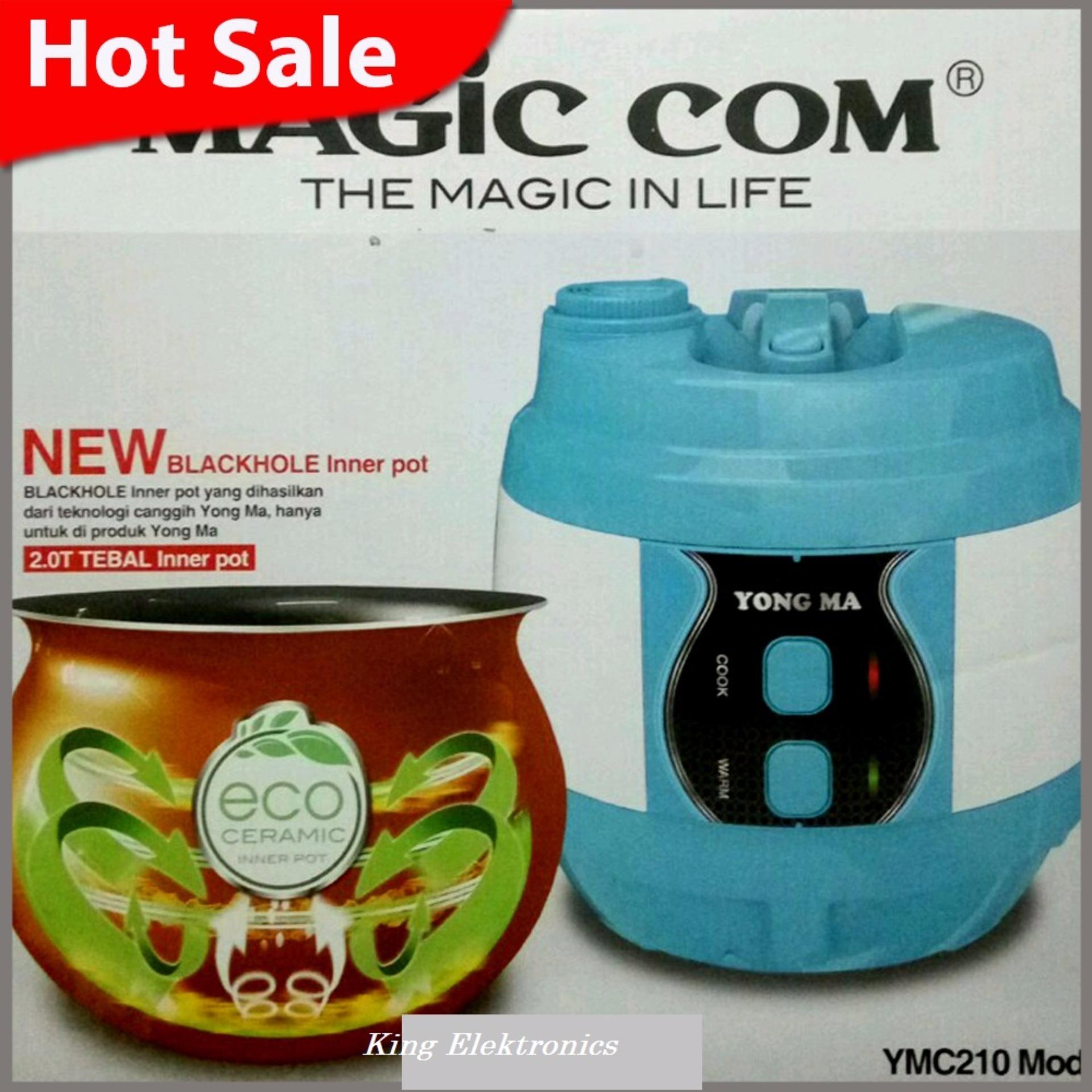 Harga Saya Yong Ma Magic Com Rice Cooker Blackhole Inner Pot Ymc 210 Digital Mc Kap