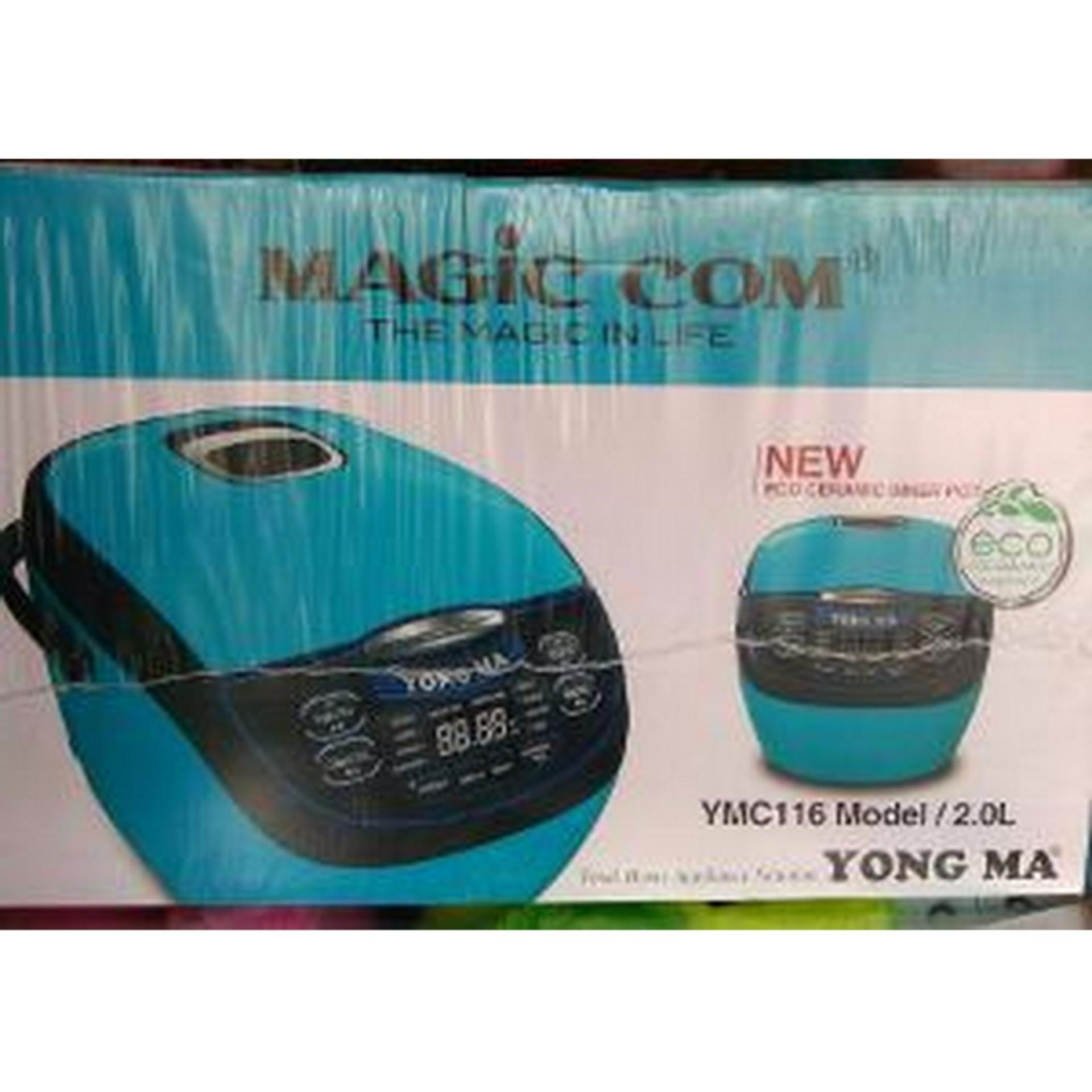 Periksa Peringkat Yongma Ymc116 Magic Com 2 Liter Digital Eco Yong Ma Magicom Mc3560 Ceramic