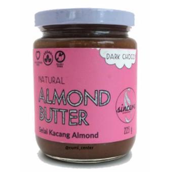 Almond Nut Butter Dark Chocolate 225g - Selai Kacang Almond Cokelat