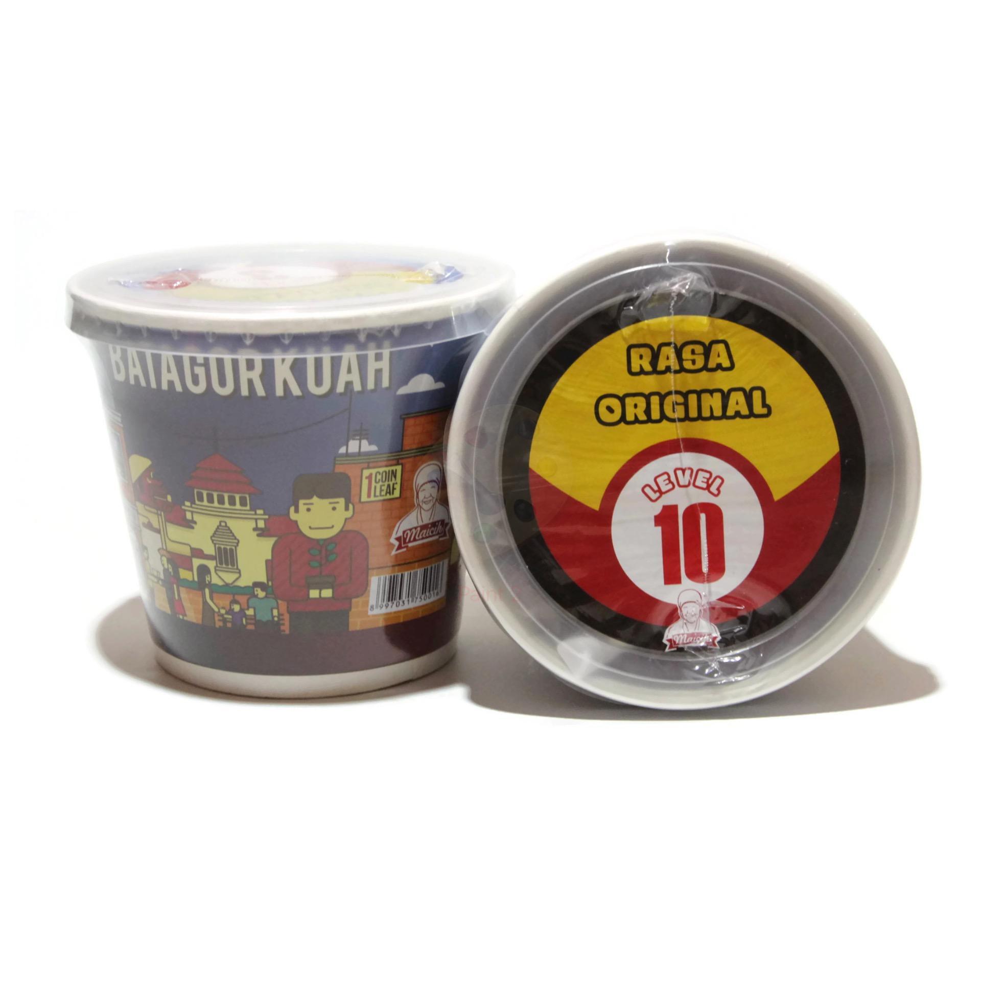 Batagor Kuah Maicih - Pedas Original Level 10 - Paket 2 Cup