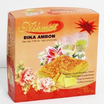 """Bika Ambon Medan Original \""""NIKMAT\"""" / Kuliner Sedap \""""NIKMAT'' MedanORIGINAL SIZE"""