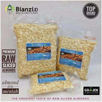 Blue Diamond Kacang Almond mentah Iris 1000 gram - 5