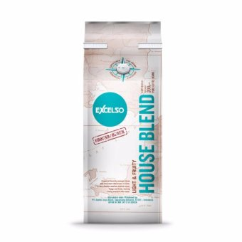 Excelso House Blend Coffee 200 gram - Ground / Bubuk