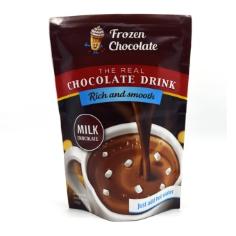 Frozen Chocolate - Minuman Coklat - Bubuk - Milk Chocolate
