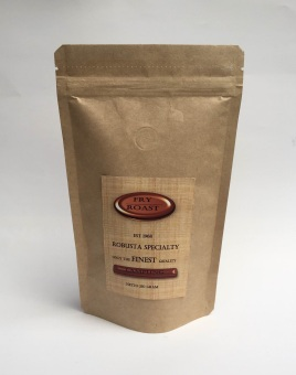 Fry and Roast - Kopi Robusta Lampung 250 gram - Biji