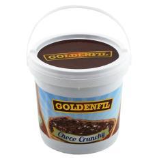 GOLDENFIL Selai Coklat XX-PR CHOCO CRUNCHY CHOCOLATE 1 KG Spread Filling BPOM & MUI - Coklat