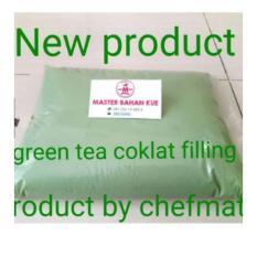 HBT Selai coklat green tea 250gr