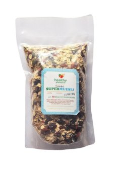 Harga Healthy Corner - Natural Muesli Super / Sereal 250 gr