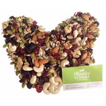 Healthy Corner Natural Trailmix Nuts Dried Fruits Kacang BuahKering (275 g)