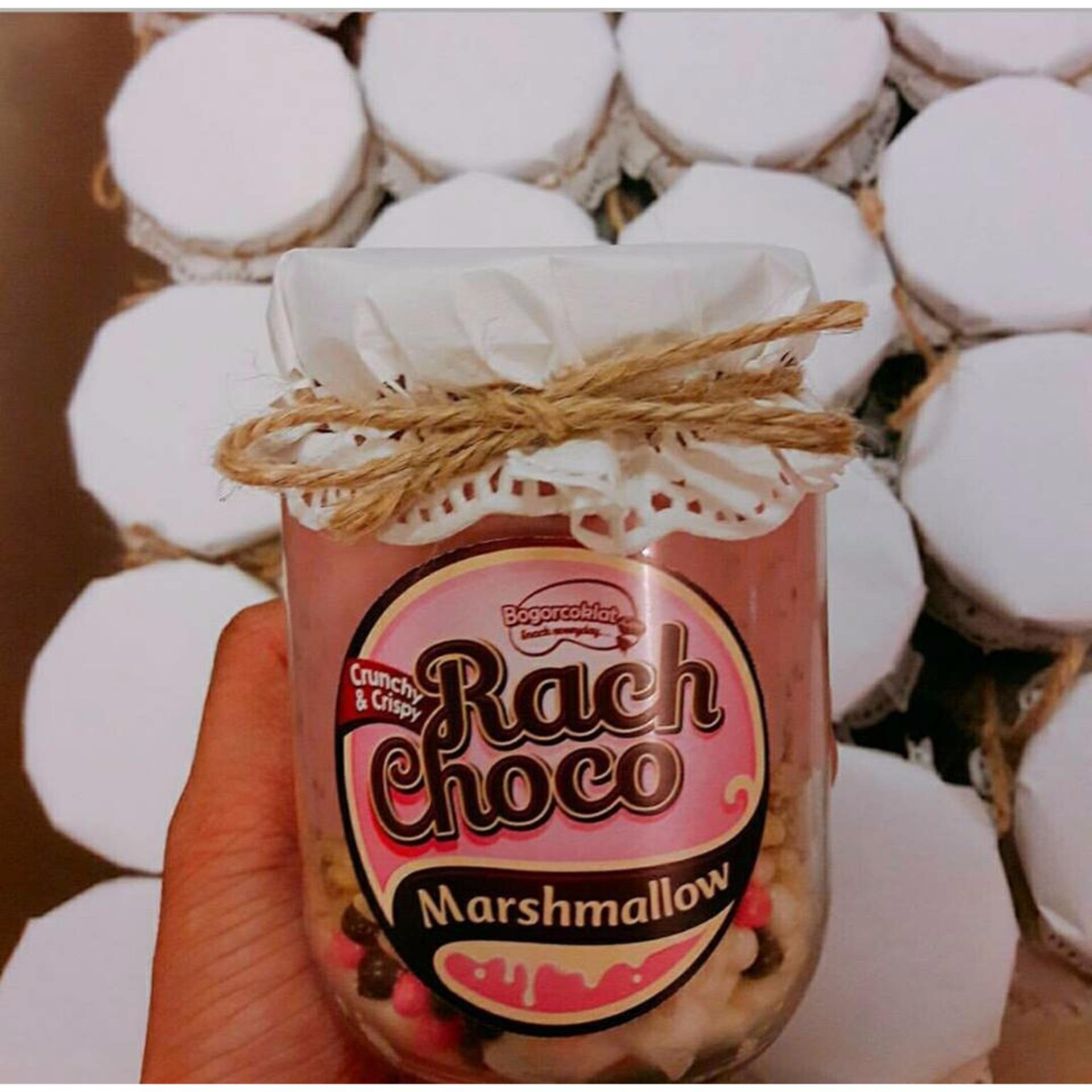 Homemade by Bogor Coklat-Rach Choco Strawberry Marshmallow