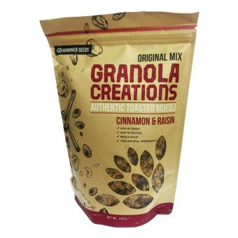 Hundred Seeds Granola Cinnamon & Raisin 480g