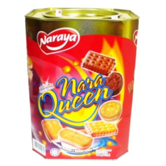 Harga Naraya Nara Queen Assorted Biscuits - 700g