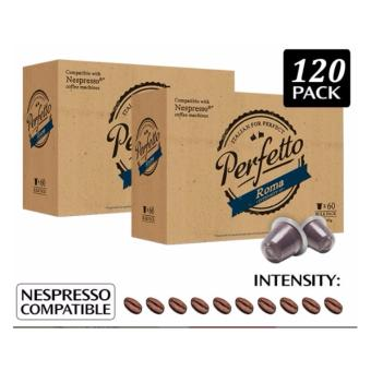 Harga Nespresso Compatible Coffee Pods for Nespresso Coffee Machine- 60 PODS - ROMA