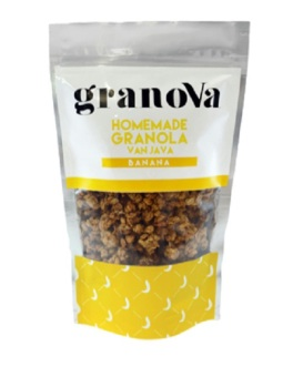 Harga Granola - Home Made Granola - Cereal- Muesli - Diet Food - Banana Pisang - 300 Gram