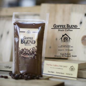 Harga erz_coffee_house Coffee Blend ERz Coffee House / Arabika Robusta / Kopi 100gr