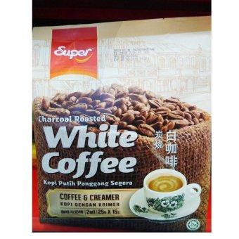Import..!! Super White 2in1 Coffee & Creamer 375g(25gx15s)
