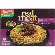 Indomie Real Meat Rendang Mie Instan Goreng rasa rendang- 110gr