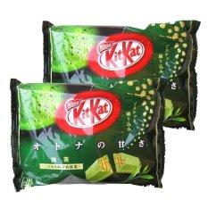 Kitkat Greentea - 2 Pack