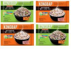 Kongbap Original & Nut Multi Grain Mix 4 pack .