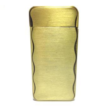 Tempat Kotak Rokok Kaleng Motif Timbul Wings Gold; Page - 2. Source · Korek