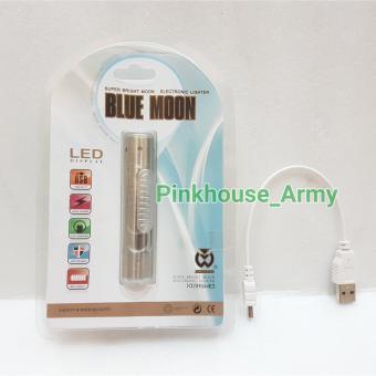 Korek Api Elektrik ( USB Lighter ) + Senter Batu Cincin - 2 ...