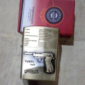 harga Korek Besi Zippo Motif Pistol Lazada.co.id