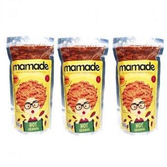 Mamade Makaroni Hot Original - Cemilan - 160gr - Paket 3 pcs. >>>>